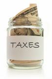 Tax jar Royalty Free Stock Photography