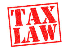TAX LAW Royalty Free Stock Photography