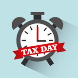 Tax liability design. Vector illustration eps10 graphic Royalty Free Stock Photography