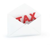 Tax mail Stock Images