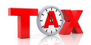 Tax metaphor Stock Photo