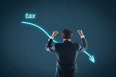 Tax optimization royalty free stock images