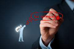Tax optimization Stock Images
