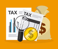 Tax payment Royalty Free Stock Photos