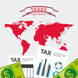 Tax payment Royalty Free Stock Photography