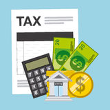 Tax payment Stock Photos