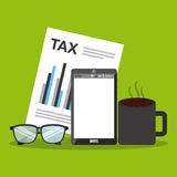Tax payment Royalty Free Stock Images