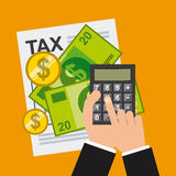 Tax payment Stock Photography