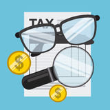 Tax payment Royalty Free Stock Photo