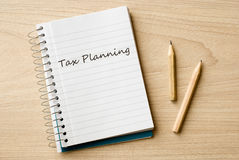Tax planning Stock Photography