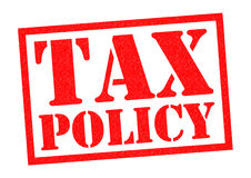 TAX POLICY Royalty Free Stock Photos