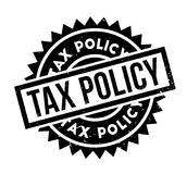 Tax Policy rubber stamp Royalty Free Stock Photography
