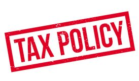 Tax Policy rubber stamp Royalty Free Stock Photos