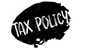 Tax Policy rubber stamp Royalty Free Stock Images