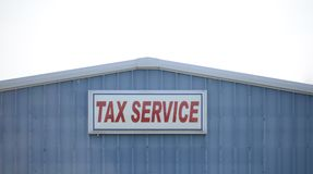 Tax Preparation Office. A tax preparation office prepares taxes annually for customers to be filed with the internal revenue service royalty free stock photography