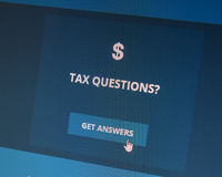 Tax questions about the Affordable Care Act? Royalty Free Stock Photo