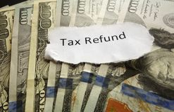 Tax Refund Stock Images