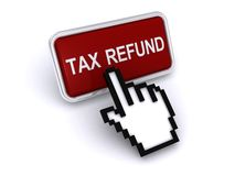 Tax Refund Web Icon Royalty Free Stock Photography