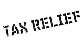 Tax Relief rubber stamp. Grunge design with dust scratches. Effects can be easily removed for a clean, crisp look. Color is easily changed Stock Photos