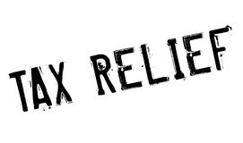 Tax Relief rubber stamp. Grunge design with dust scratches. Effects can be easily removed for a clean, crisp look. Color is easily changed Stock Photography