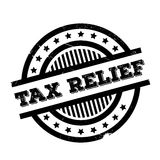 Tax Relief rubber stamp. Grunge design with dust scratches. Effects can be easily removed for a clean, crisp look. Color is easily changed Stock Image