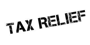 Tax Relief rubber stamp. Grunge design with dust scratches. Effects can be easily removed for a clean, crisp look. Color is easily changed Royalty Free Stock Photos