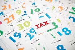 Tax Stock Image