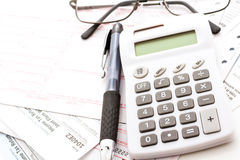Tax return Stock Images