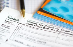 Tax return Royalty Free Stock Image
