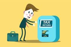 Tax return concept. Royalty Free Stock Photos