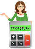 Tax Return Stock Photo