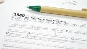 Tax return form individual income