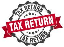 Tax return stamp Stock Photos