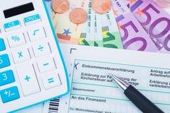 Tax revenue Royalty Free Stock Photo