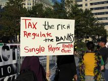 Tax the Rich Royalty Free Stock Photo