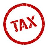 tax stamp royalty free stock image