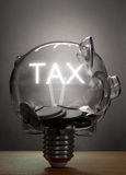 Tax savings Royalty Free Stock Photography