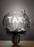Tax savings Royalty Free Stock Photography