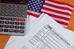Tax Season Stock Photography