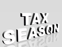Tax season. Royalty Free Stock Photo