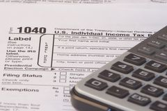 Tax Season Royalty Free Stock Images