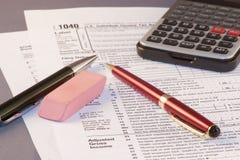 Tax Season Royalty Free Stock Photo