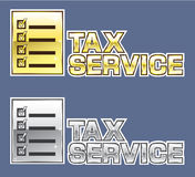 Tax Service Vector. File eps Stock Image