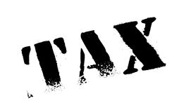 Tax stamp rubber grunge Stock Photography