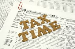 Tax Time Stock Photography