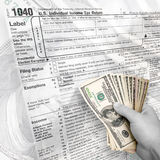 Tax Time Royalty Free Stock Images