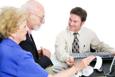 Tax Time With Accountant stock images