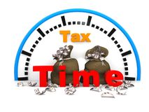 """Tax time. Concept"""", can be used in business, personal, charitable and educational design projects: it may be used in web design, printed media, advertising Stock Photography"""