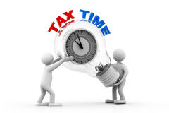 Tax time concept Stock Photography