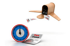 Tax time concept Stock Image